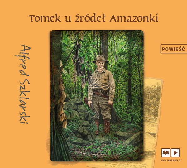 Tomek u źródeł Amazonki audiobook CD/MP3