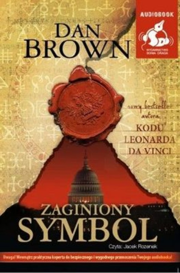 Zaginiony symbol Audiobook CD Audio