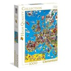 Clementoni High Quality Collection Mapa Europy -