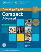 Compact Advanced Student`s Book Pack - Peter May