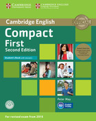 Compact First Student`s Book with Answers +2 CD - Peter May