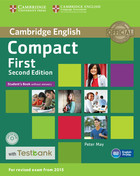 Compact First Student`s Book without Answers with CD-ROM with Testbank - Peter May