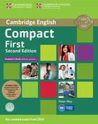Compact First Student`s Pack (Student`s Book without Answers with CD ROM, Workbook without Answers with Audio) - Peter May