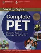 Complete PET Student`s Book with answers +3CD - Peter May, Emma Heyderman