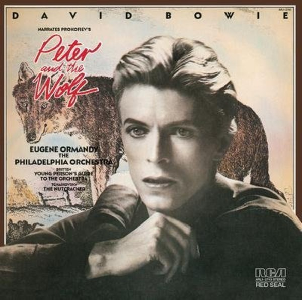 David Bowie narrates Prokofiev's Peter and the Wolf & Britten's The Young Person's Guide to the Orchestra