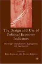 Design and Use of Political Economy Indicators