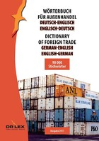 Dictionary of foreign trade German-English English-German - Piotr Kapusta