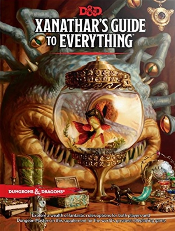 Dungeons & Dragons: Xanathar`s Guide To Everything (edycja angielska)