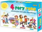 Edukacyjna loteryjka obrazkowa 4 pory roku