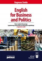 English for Business and Politics - mobi, epub - Dagmara Świda