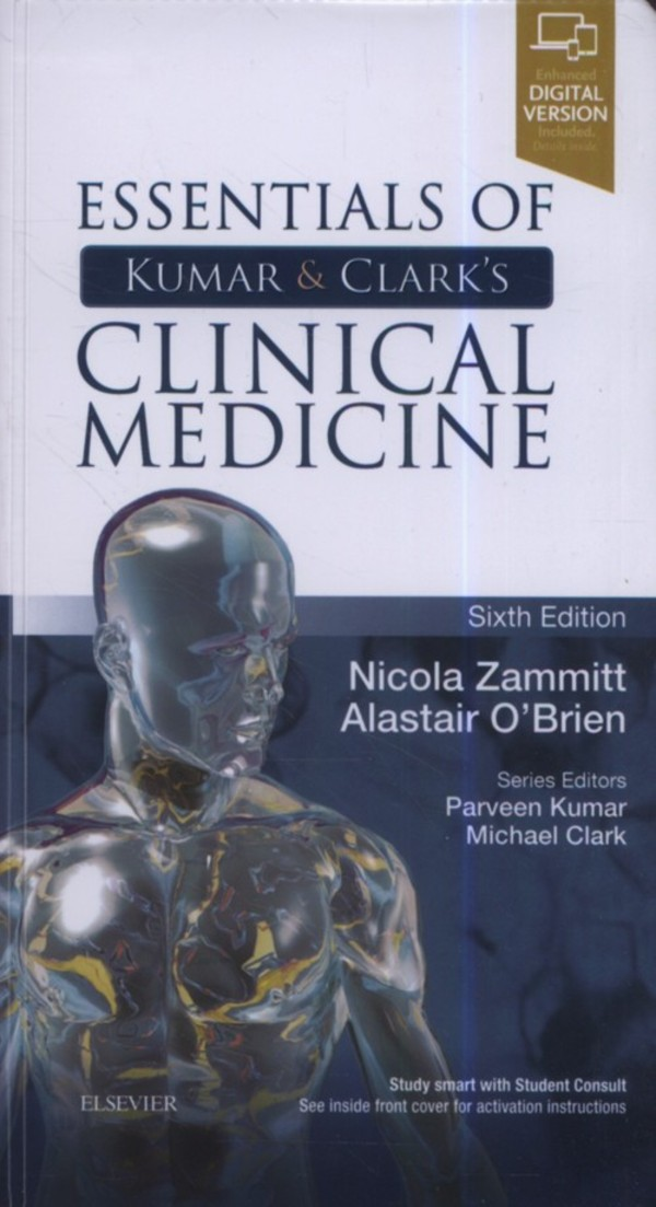 Essentials of Kumar and Clark's Clinical Medicine. 6th Edition