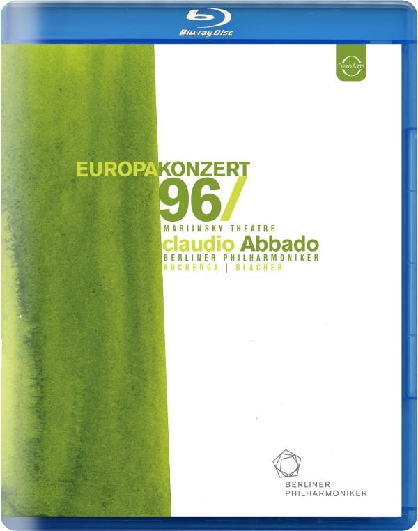 EUROPAKONZERT 1996 from St. Petersburg (Blu-Ray)