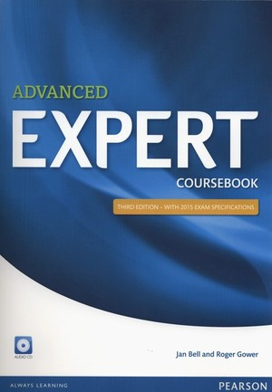 Expert Advanced Coursebook Podręcznik + CD Third edition with 2015 exam specifications