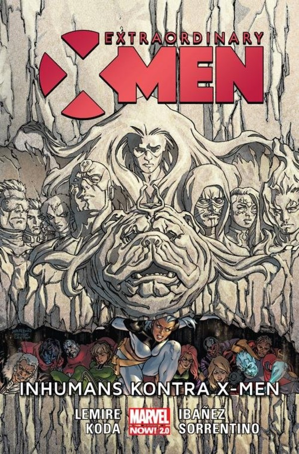Extraordinary X-Men. Inhumans kontra X-Men