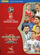 Panini FIFA World Cup Russia 2018 Adrenalyn XL album kolekcjonera -