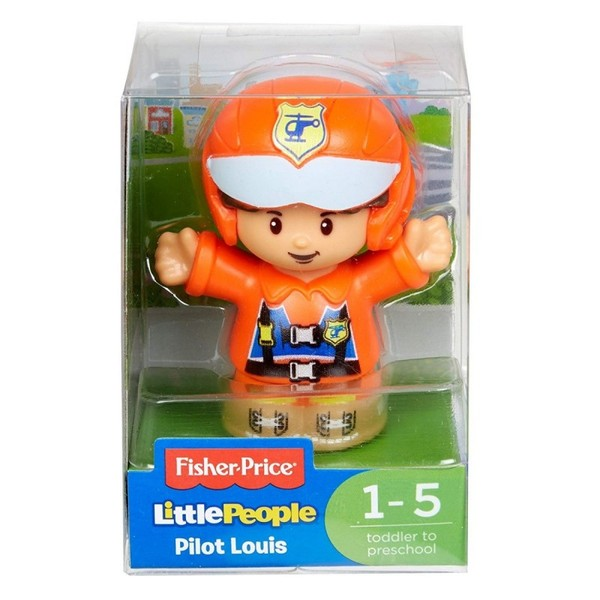 Fisher Price Little People Figurka Pilot Louis DVP63/FGX52