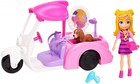 Polly Pocket Figurka Polly z pojazdem -