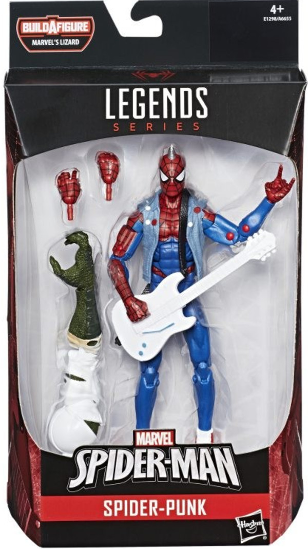 Hasbro Spider-man Legends Figurka Spider Punk