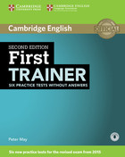 First Trainer Six Practice Tests without Answers + Audio - Peter May