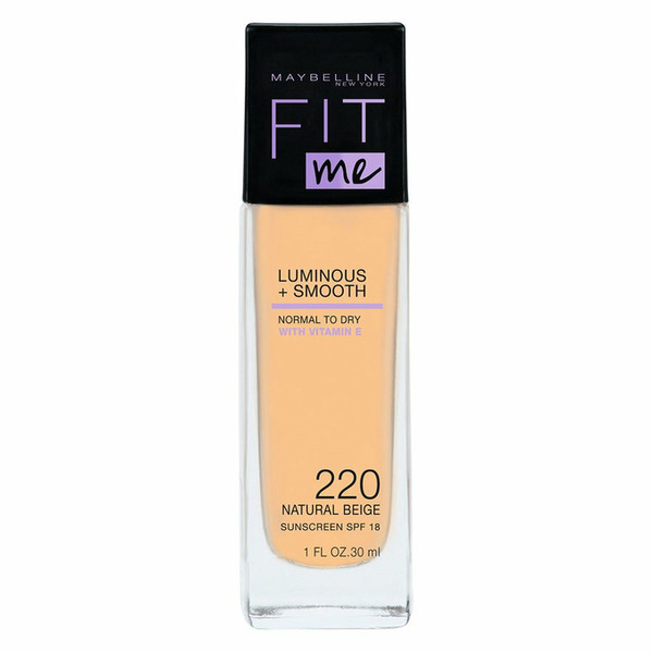 Fit Me Luminous + Smooth Foundation podkład do twarzy 220 Natural Beige