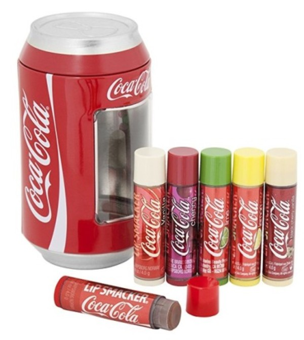 Flavoured Lip Balm Collection Coca-Cola Mix Błyszczyki do ust