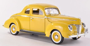 Ford Coupe 1940 (yellow) Skala 1:18