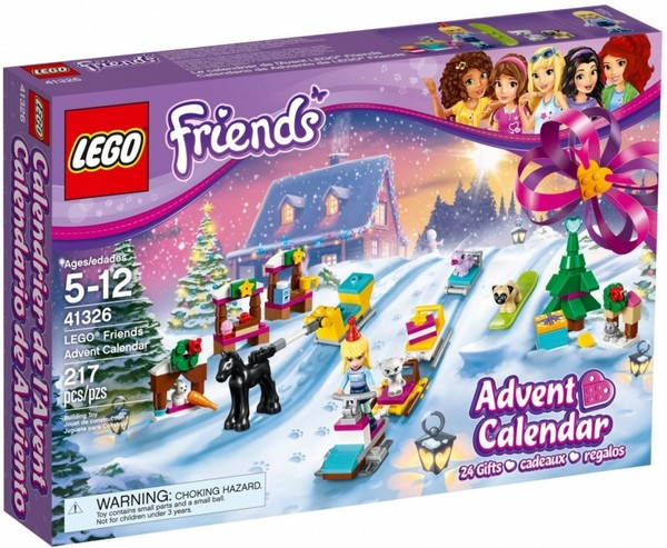 Lego Friends Kalendarz Adwentowy 2017 41326 9703zł W Gandalfcompl