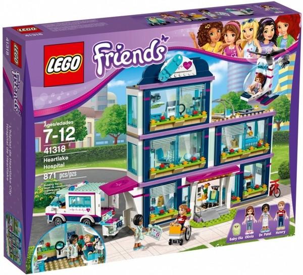 Lego Friends Szpital W Heartlake 41318 33022zł W Gandalfcompl