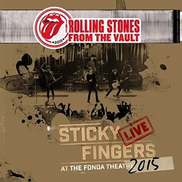 From The Vault: Sticky Fingers Live 2015 (DVD + CD)