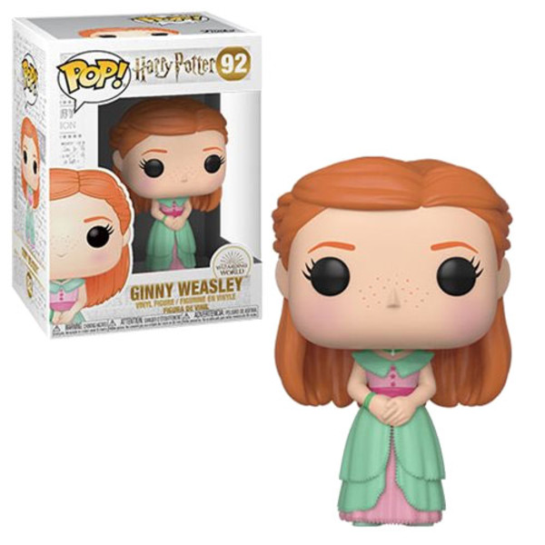 Funko POP Movies: Harry Potter S7 - Ginny (Yule) 92
