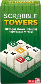 Mattel Gra Scrabble Towers -