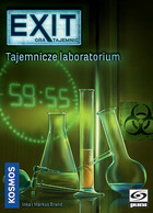 Galakta Gra Exit: Gra Tajemnic - Tajemnicze laboratorium