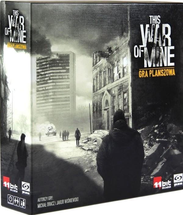 Galakta Gra This War Of Mine 21125zł Gry Planszowe W Gandalfcompl