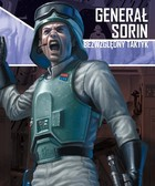 Galakta Star Wars : Imperium Atakuje - Generał Sorin, Bezwzględny taktyk