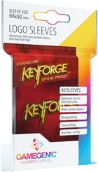 Gamegenic KeyForge - Logo Sleeves Red