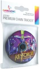 KeyForge - Premium Logos Chain Tracker
