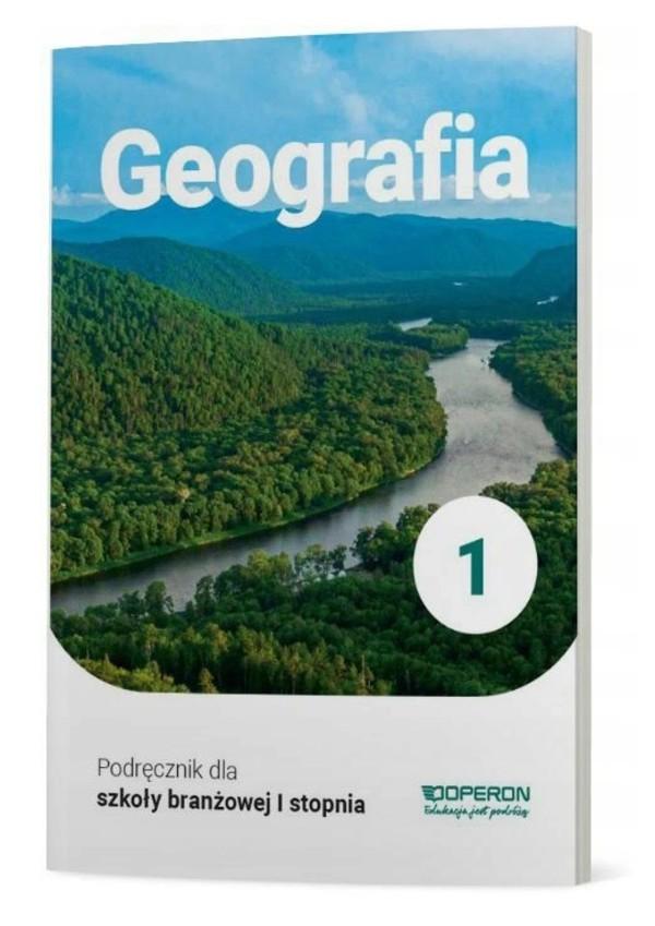 geografia podręcznik dla szkoły branżowej 1 stopnia operon