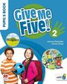 Give Me Five! 2 Pupil`s Book Pack - Joanne Ramsden, Donna Shaw