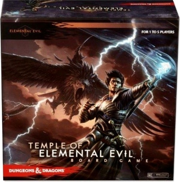 Gra D&D: Temple of Elemental Evil Board Game