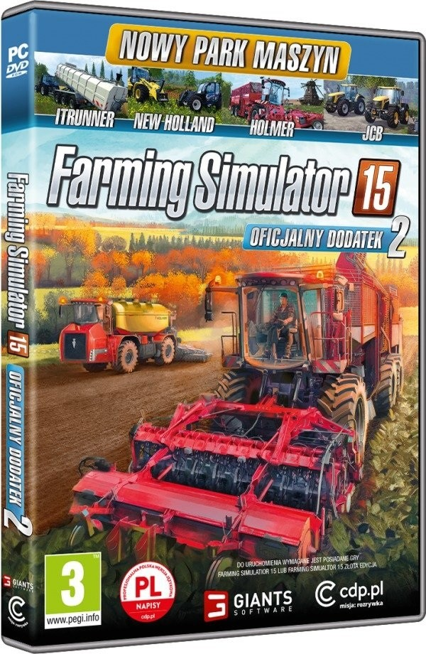 Gra Farming Simulator 15 Add On 2 (PC) DVD-ROM