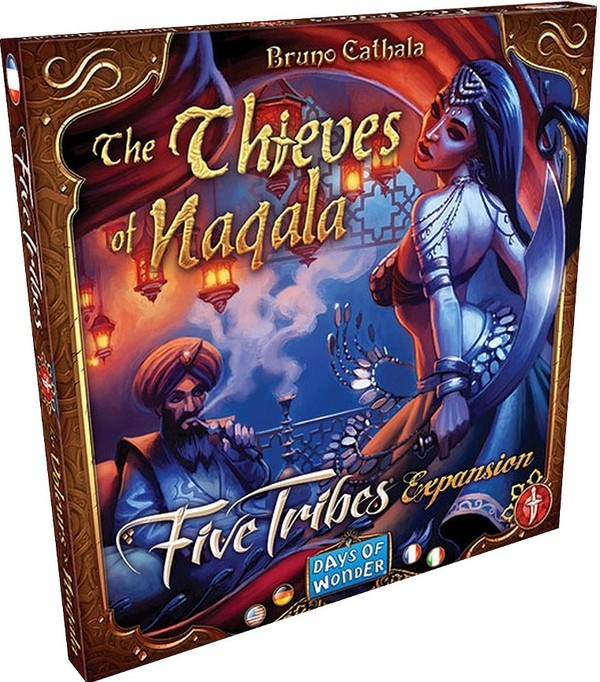 Gra Five Tribes dodatek: Thieves of Naqala