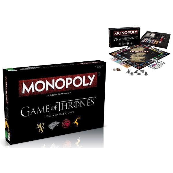 Gra Monopoly Gra O Tron Edycja Kolekcjonerska 11330zł Gry