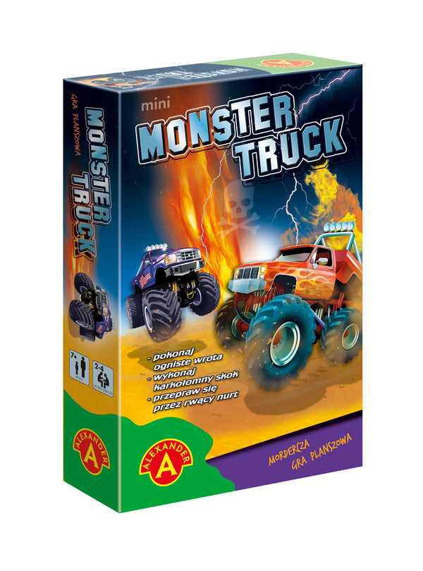 Gra Monster Truck Mini