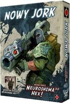 Gra Neuroshima Hex! 3.0 Dodatek Nowy Jork