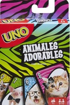 Gra Uno Baby Animal -