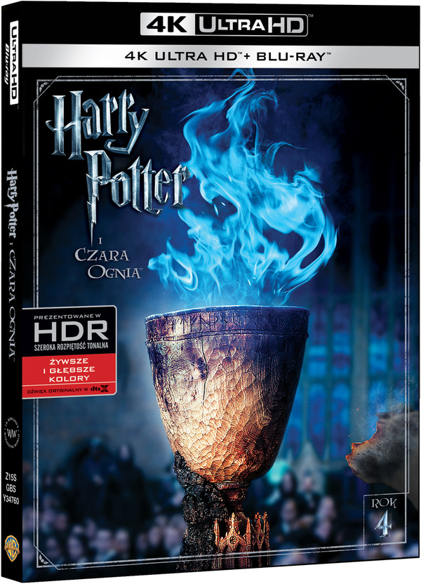 Harry Potter i Czara Ognia (4K Ultra HD)