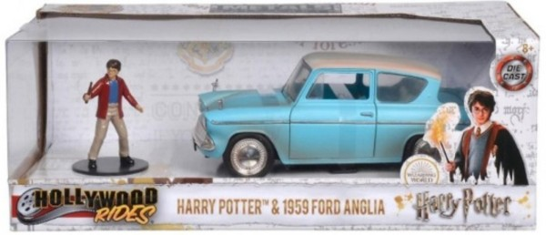 Harry Potter i Ford Anglia 1969 1:24