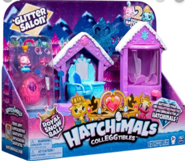 Hatchimals Brokatowy salon 6047221