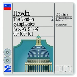 Haydn: The London Symphonies Nos. 93, 94, 97 & 99 - 101