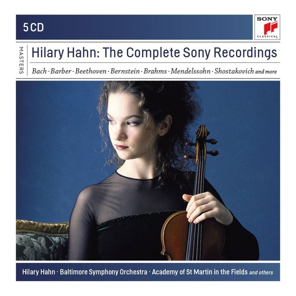 Hilary Hahn - The Complete Sony Recordings (box)